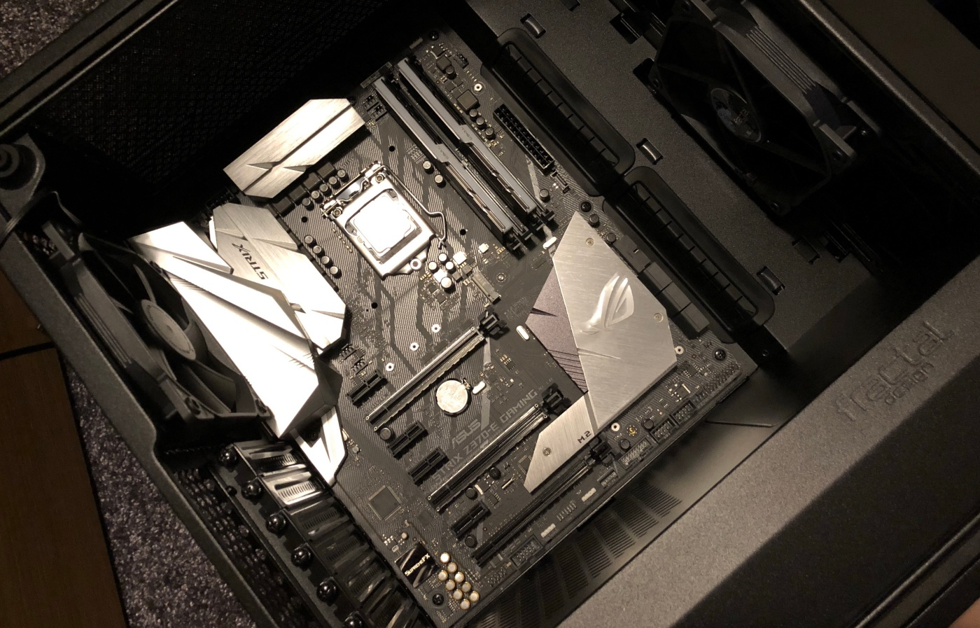 2018 Gaming Pc Build Part 3 Motherboard And I O Wiring Pxporcupine